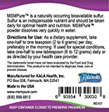 Kala Health MSMPure Coarse Powder Flakes, Organic