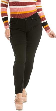 Amazon Com Kan Can Kc5003bk Pantalones Vaqueros De Talla Grande Elasticos Muy Suaves Color Negro Clothing