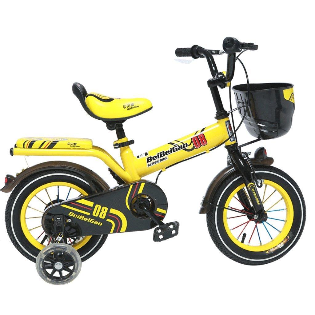 子供用自転車12/14/16インチベビーキャリッジ3-12歳の赤ちゃん少女ガールペダル自転車 (サイズ さいず : 12インチ) B07D4FDRWX 12インチ 12インチ