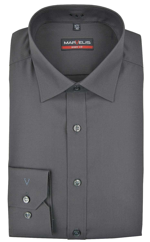 Marvelis - Camisa formal - Básico - Clásico - para hombre