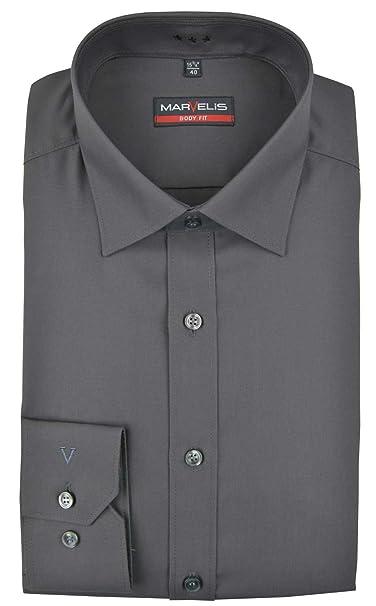 para Hombre Camisa Formal Marvelis Cl/ásico