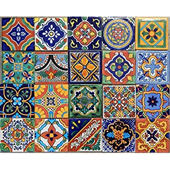 100 Mexican Tile Mix 4x4
