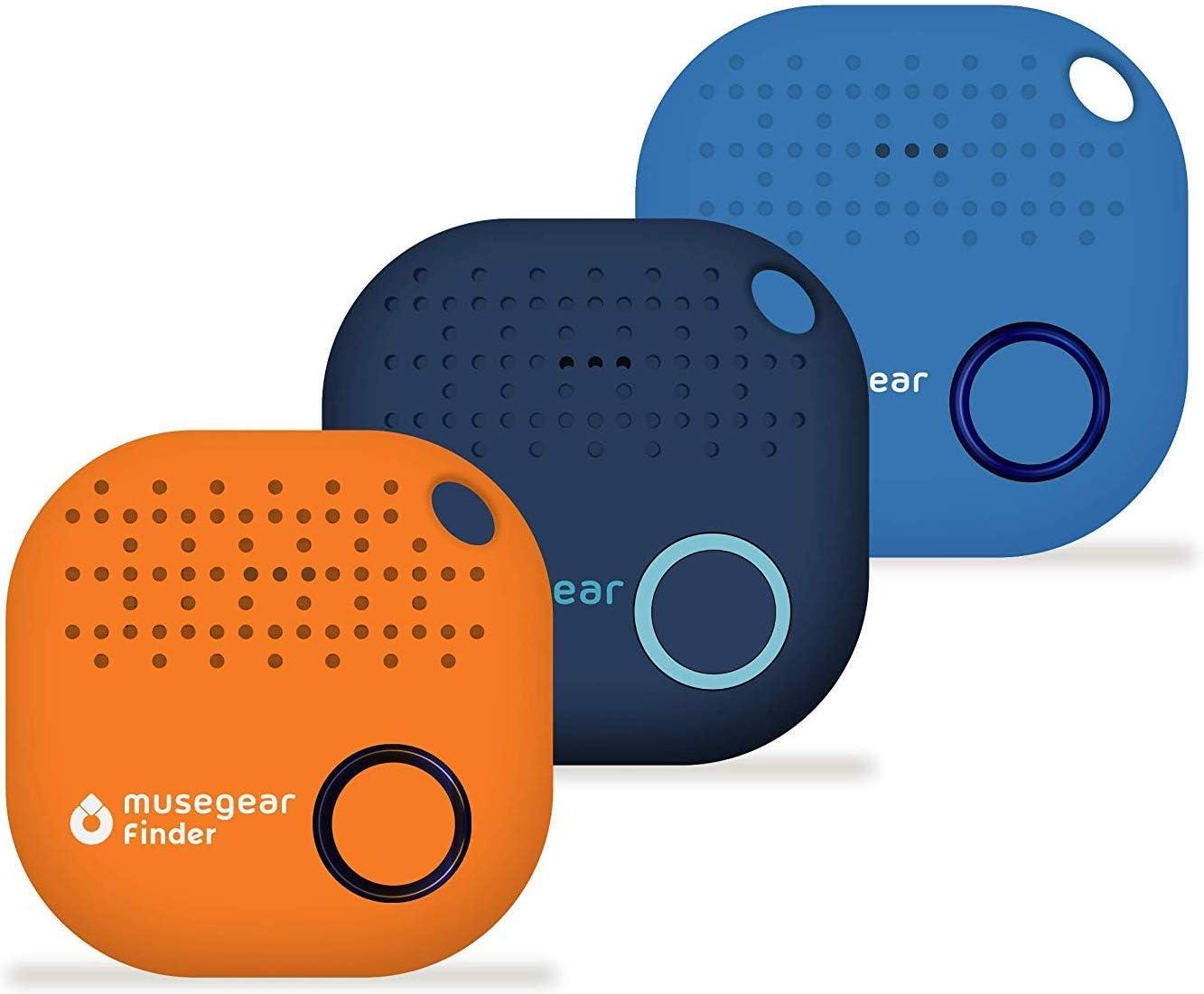 Musegear Schlüsselfinder Mit Bluetooth App Aus Deutschland I Maximaler Datenschutz I 3er Pack Bunt