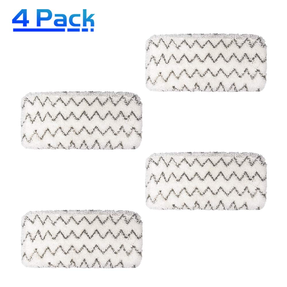 X Home Steam Mop Pads Kit Replacement pad for Bissell Spinwave 2124 2039A, 2039, 20391,2307, 2039Q, 2039T, 2039W Powered Hard Floor Mop pads Vacuum Cleaner Accessories Mop Pad Soft and Scrubby (2 Pcs)