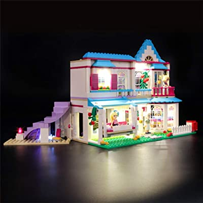 Led Lighting Kit for(Friends Stephanie's House) - Compatible with Lego 41314 Building Blocks Model(Only Light Set): Home & Kitchen