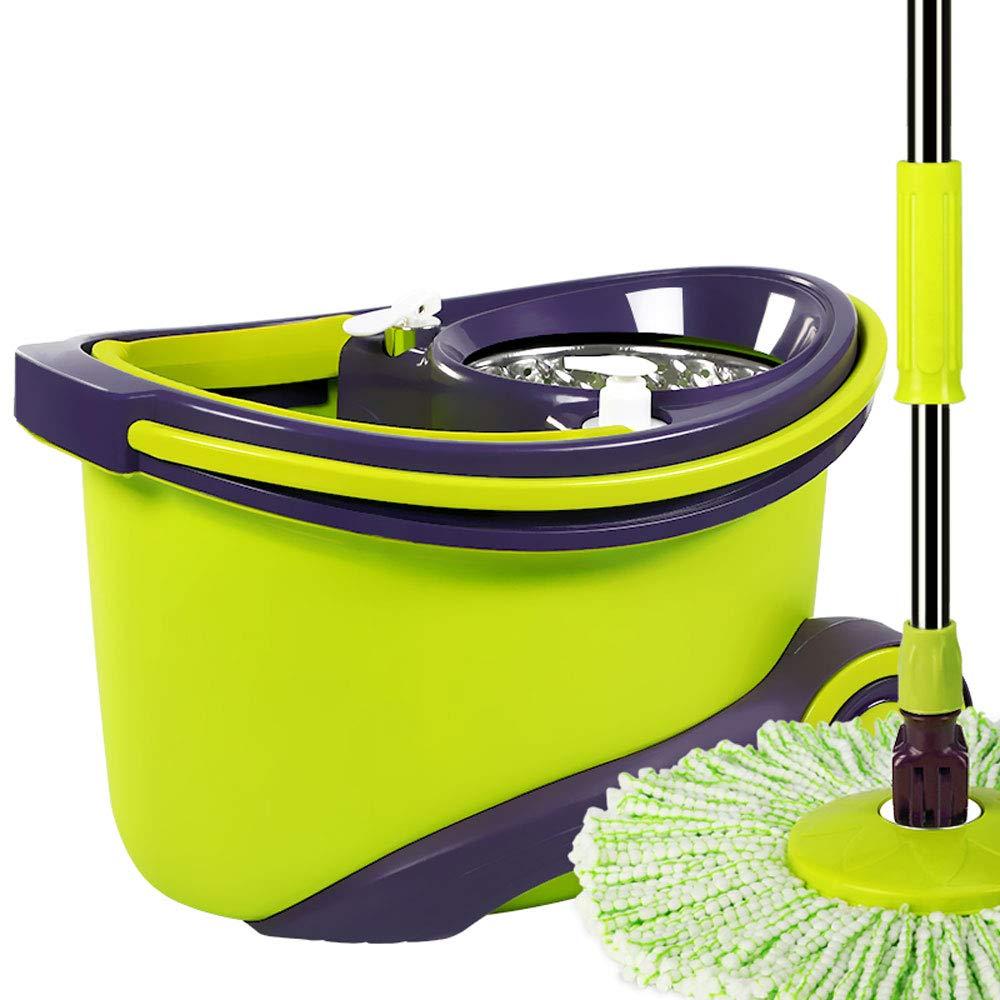 LJHA tuoba モップ回転自動脱水ウッドフロア家手洗い乾燥やウェットモップ (色 : C, サイズ さいず : B) B07H1W8D9L C B
