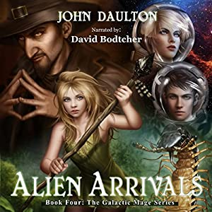 Alien Arrivals Audiobook
