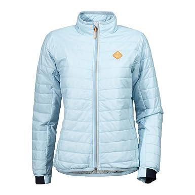Didriksons Maud Women s Jacket - Steppjacke, Größe Bekleidung NR 44,  Farbe Clear Blue 95cc2a7098