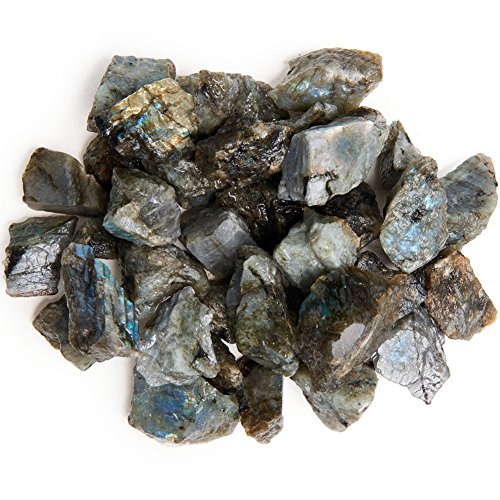 Digging Dolls: 1 lb Labradorite Rough Rocks from Madagascar for sale  Delivered anywhere in USA