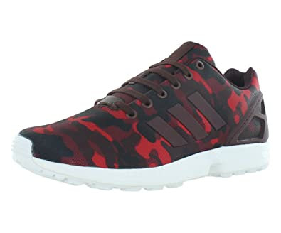 adidas Zx Flux Men's Running Shoes Size US 13, Regular Width, Color RedCamouflage