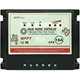 APINEE 10A MPPT 12V/24V Solar Charge Controller Fully Automatic Operation with USB port Eco-worthy