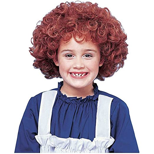 Franco Girls Halloween Costume Curly Red Orphan Wig  sc 1 st  Amazon.com & Amazon.com: Franco Girls Halloween Costume Curly Red Orphan Wig ...