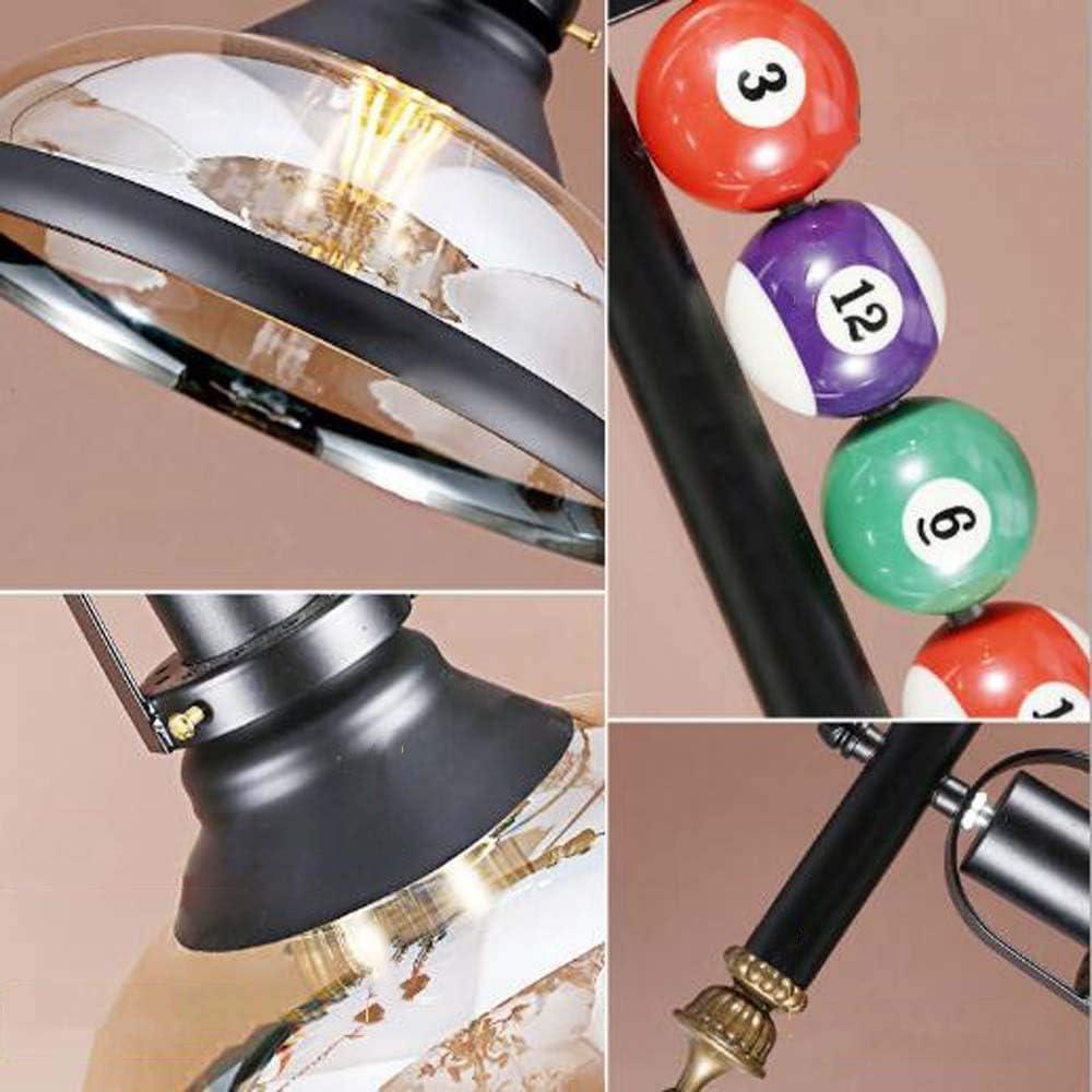 L.W.SURL American Retro lámpara de la Tienda de Ropa de Billar Billar decoración de la Tienda de la Personalidad ...