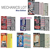 "Steellabels - ""Mechanics Lot"" for Professional & Home Mechanics. Combo Pack includes Magnetic Toolbox Labels, Presidential Master Set, Circuit Breakers, Tackle ID, Universal Assembly Decals & more"