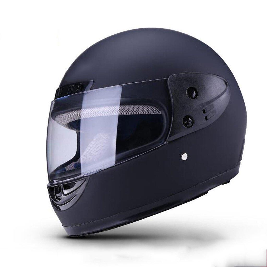 XY&CF Fahrrad Helm Motorradhelm Vollgesichtshelm Objektiv Anti-Fog Vier Jahreszeiten Voller Helm