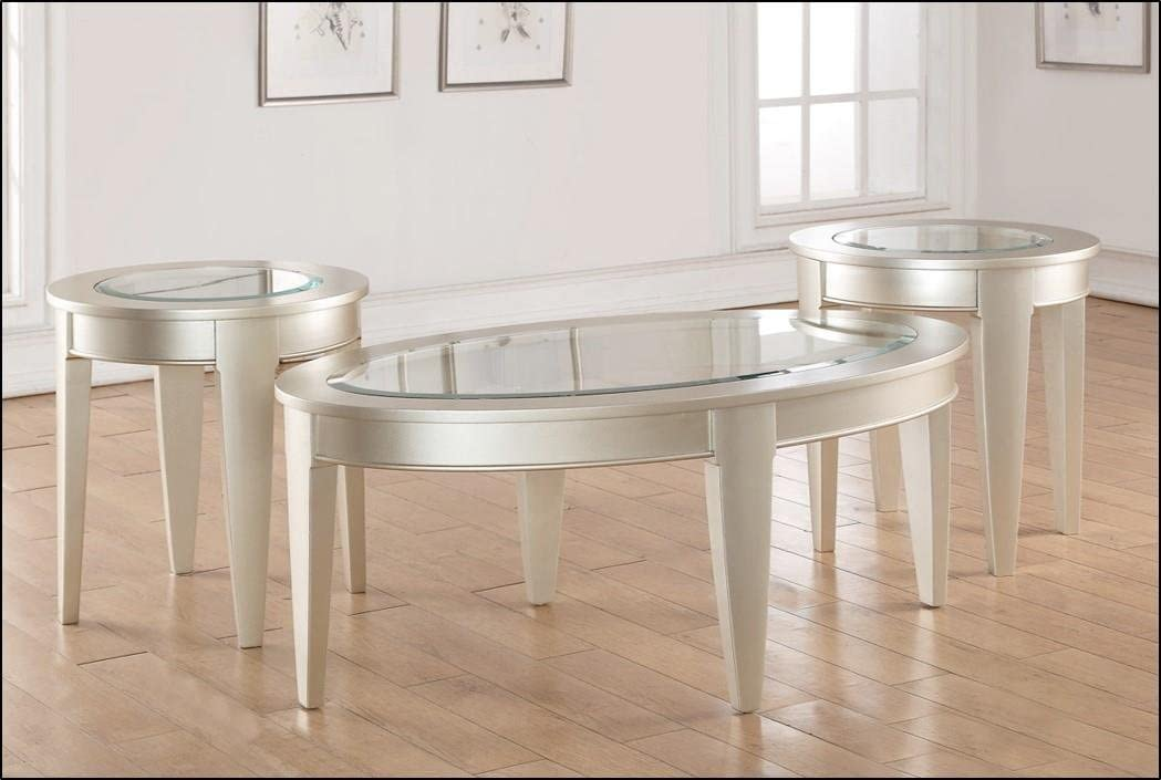 Lane Home Furnishings End Table, Platinum
