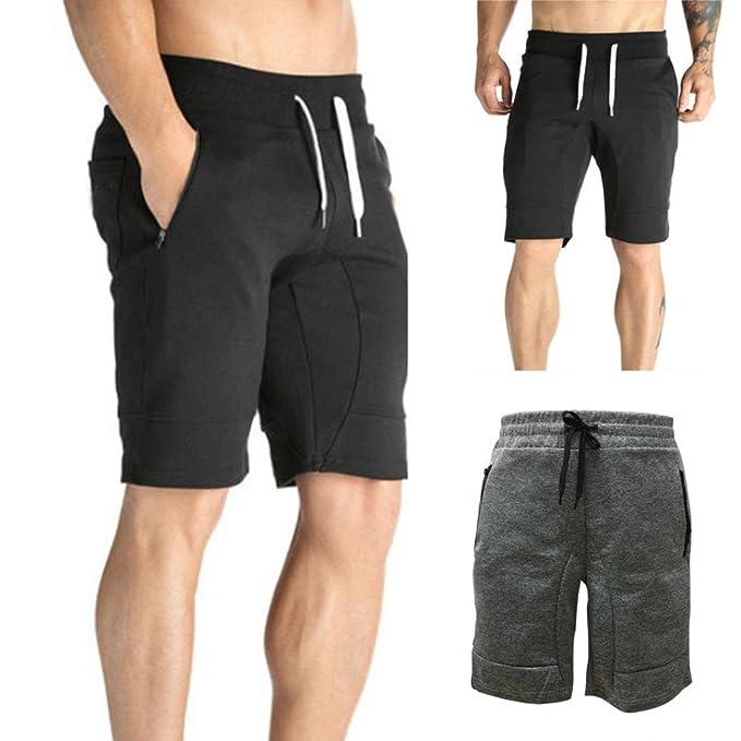 2b7edbd9d625 Morwind Cargo Shorts Uomo Pantaloni Corti Estivi Lunghezza Al Ginocchio Pantaloncini  Con Tasconi Laterali Casuale Uomo