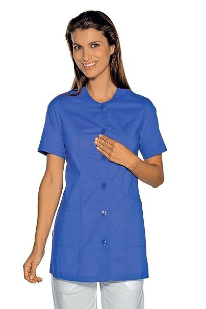 Isacco-túnica médica Lampedusa, Color Azul Cian: Amazon.es: Ropa y accesorios