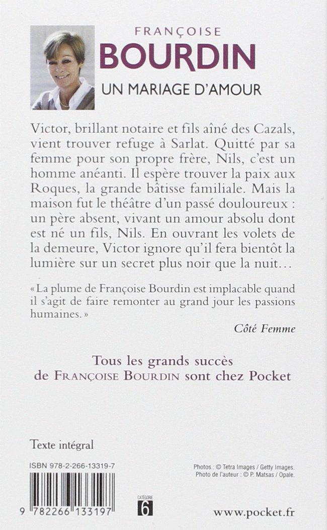 Un Mariage Damour Pocket Amazones Françoise Bourdin