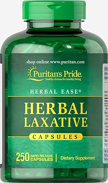 Puritan's Pride Herbal Laxative-250 Capsules