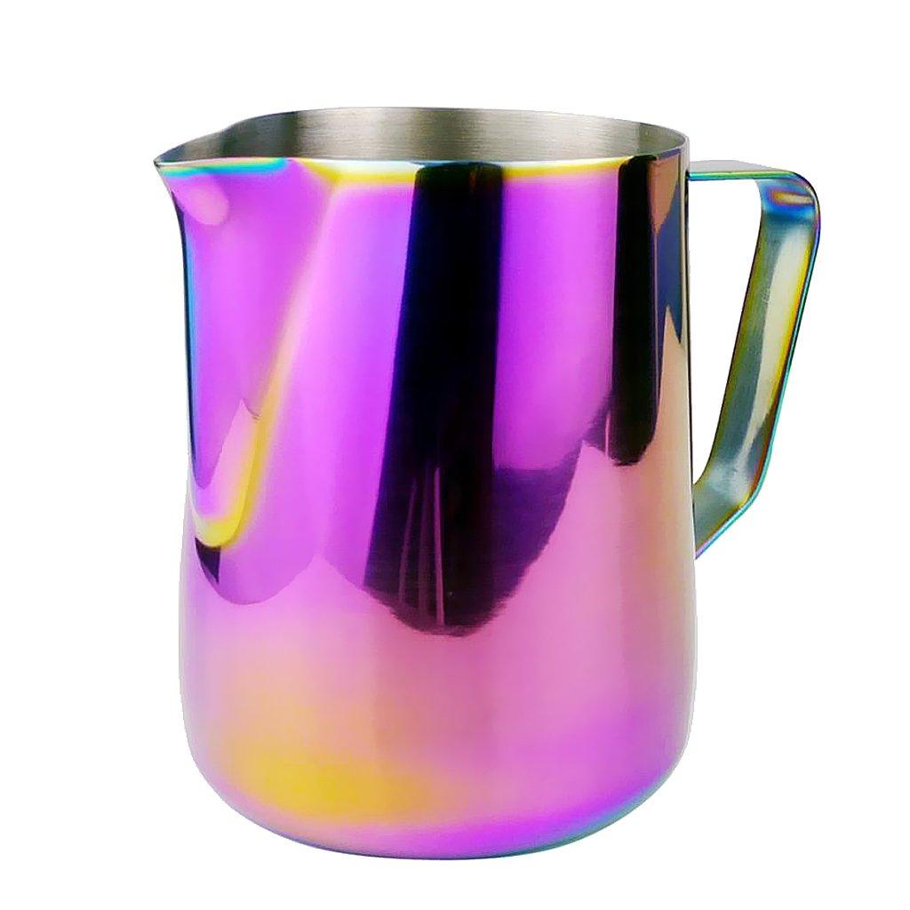 petsola In Acciaio Inossidabile Brocca Latte Caffè Schiuma Frothing 350/600ml A Scelta – 350ml Prezzi