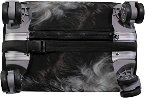Blue Viper Cute Black And White Animals Luggage Protective Cover Suitcase Protector Fits 22-24 Inch Luggage