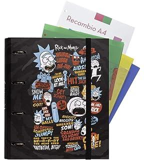 Agenda escolar 2019/2020 día página M Rick & Morty: Amazon ...