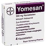 Yomesan Kautabletten, 4 St.