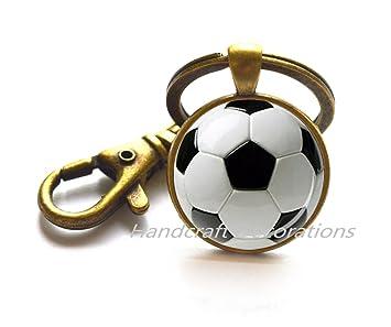 Fútbol llavero llavero de balón de fútbol deporte llavero ...