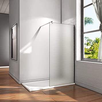 Walk in ducha pared de 8 mm - Mampara de ducha Easy Clean Nano ...