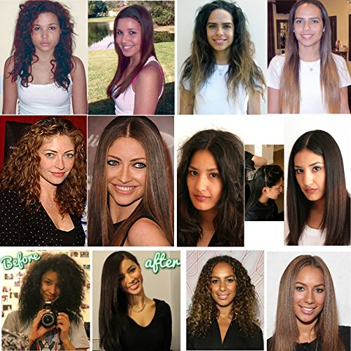 Brazilian Keratin Blowout Straightening Smoothing Hair Treatment 4 Bottles 1000ml Kit Includes Sulfate Free Shampoo Conditioner set by Keratin Research by Keratin Research (Image #1)
