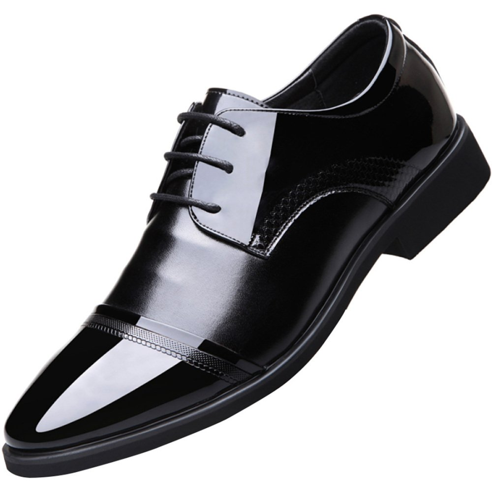 MYXUA Herren Sandaleen Kleid Schuhe Derby Schuhe Arbeitsschuhe