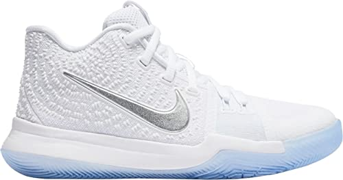 sports shoes 0d5a9 cb8d9 coupon code for nike kyrie 3 blanc and chrome parts 1fc51 7e65a