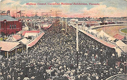 National Post Canadian - Midway Canal, Canadian National Exhibition Toronto, Canada Postcard Post Card