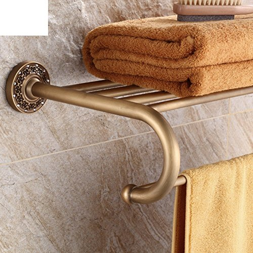 YAOHAOHAO Of ancient copper fully towel rack/Continental towel rack/bath rooms accessories