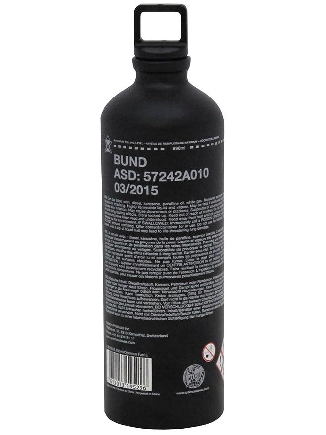 Bundeswehr Botella de combustible 1 L), color negro: Amazon.es ...