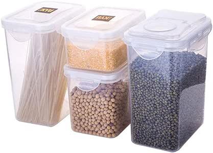 Caja de almacenamiento sellada para cereales de 1,8 L, caja de ...
