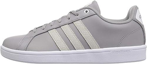 adidas Damen Cloudfoam Advantage Clean W Gymnastikschuhe, weiß/weiß