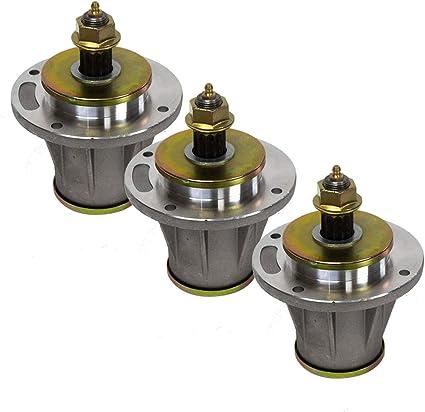 3 Spindle Mandrel Rebuild Kits replaces Husqvarna 539112170 532173436 532112171