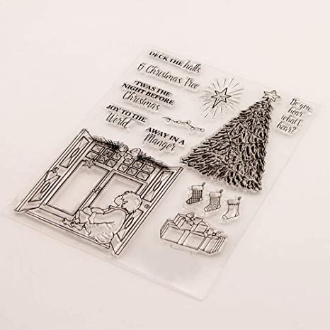 Deutscher hallo///Transparenter klarer Silikonstempel//Siegel f/ür DIY Scrapbooking//Fotoalbum Dekorative klare Stempel M1235