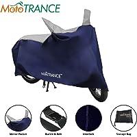 Mototrance MT800338 Universal Bike Body Cover (Sporty Blue)