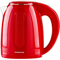 Deals on Ovente Electric Hot Water Kettle 1.7 Liter KD64R