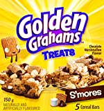 Golden Grahams Chocolate Marshmallow Flavour Treat S'mores, 5-Count, 150 Gr
