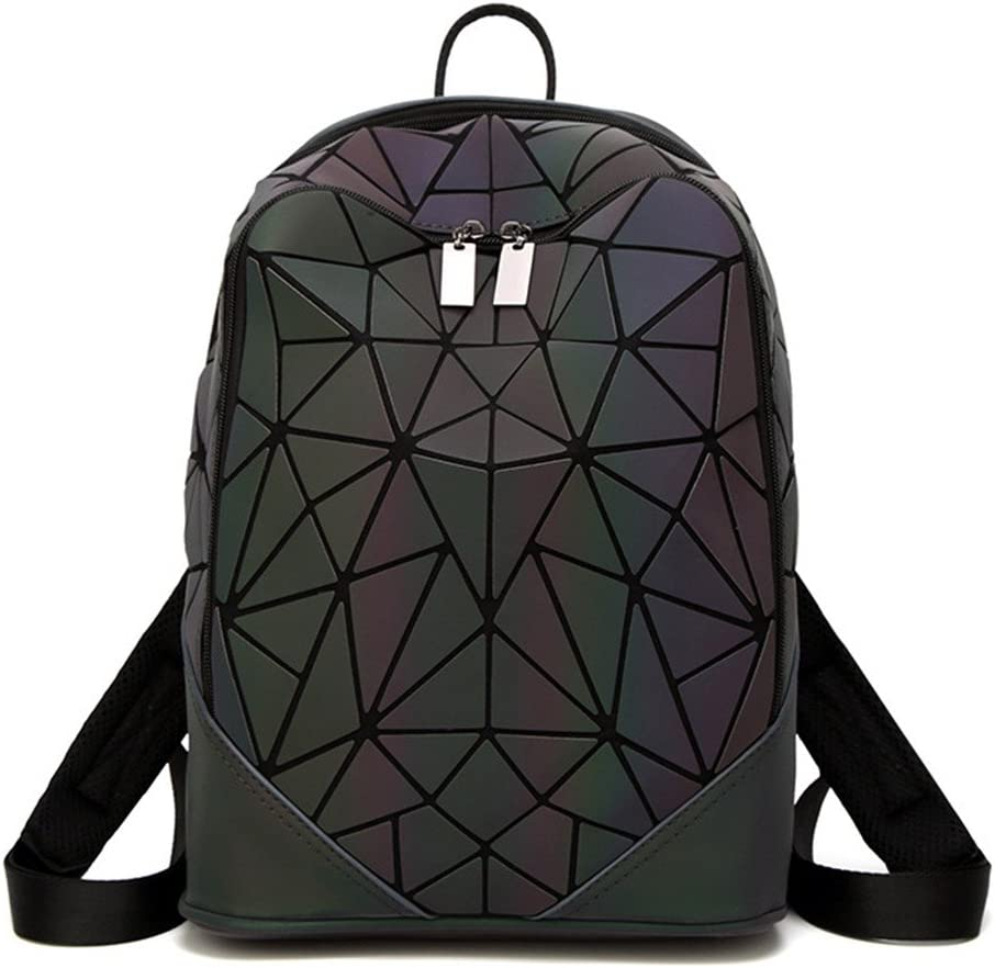 Holographic Backpack Bags Leather Backpacks For Teenage Girls Schoolbag