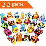 Play Vehicles, Friction Powered Pull Back Toys, Construction Crane Trucks, Trains, Aeroplanes, Racing Car, Scooter, Gift for 2, 3, 4, 5, 6 Year Olds Age Kids Toddler, Boy, Girls(Color N Pattern Vary)