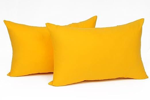 Pack de 2 fundas de cojín Eugad #600, para cojines de sofá ...