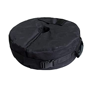 Paragüero de 45 cm, Bolsa de Peso Desmontable, Bolsas de Arena para Patio, Playa, etc. Paraguas estándar para Exteriores HZC150: Amazon.es: Jardín