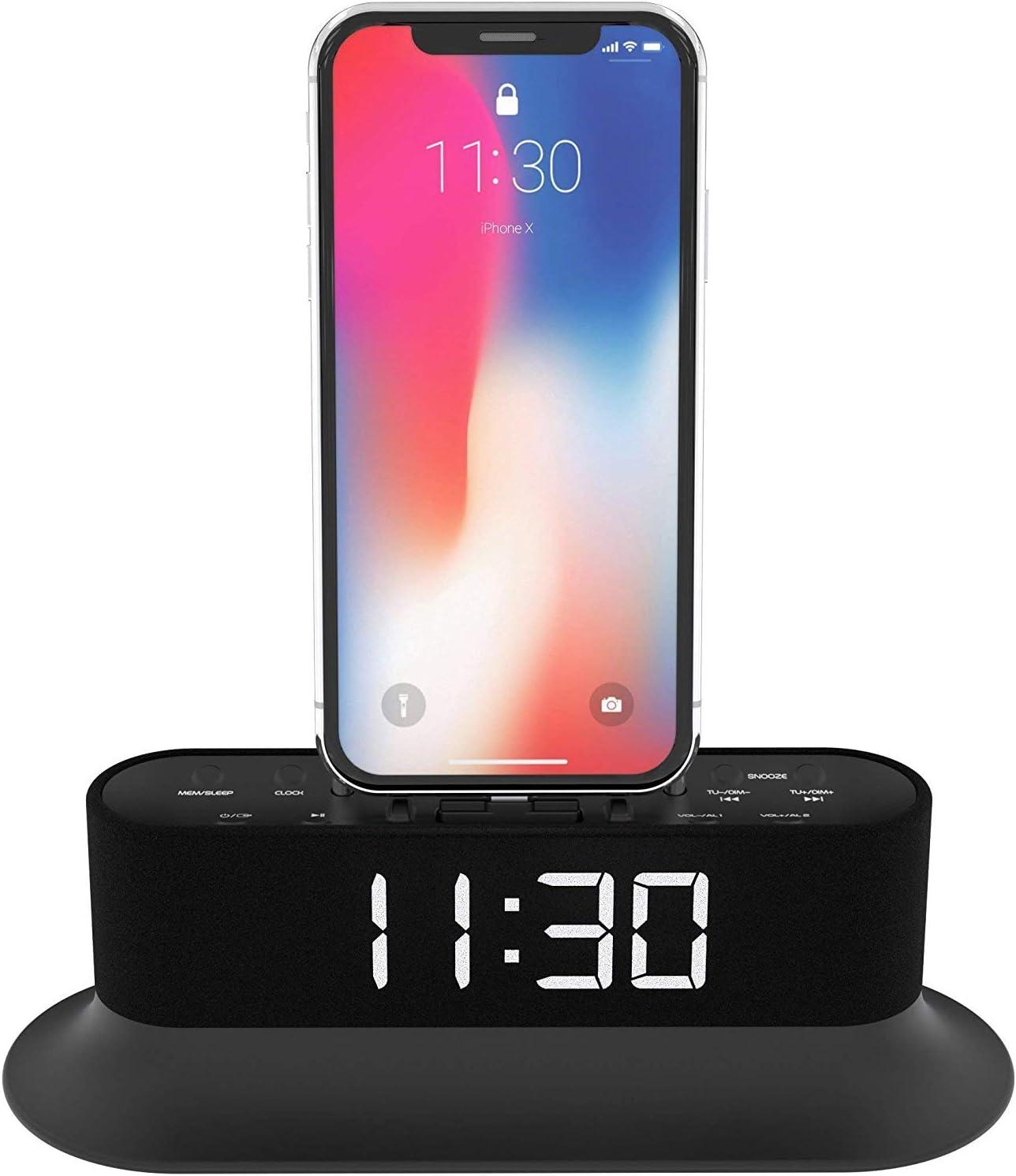 best alarm clock speakers for iphone 8 plus