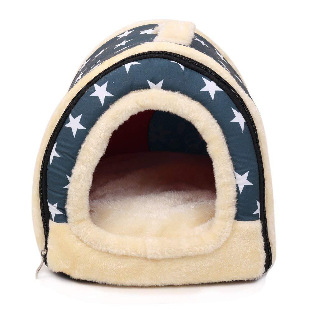 Godea - Manta 2 en 1 para Perro, Gato, Perro, caseta de Mascota, portátil, Plegable, para habitación de Perro/Cama.: Amazon.es: Productos para mascotas