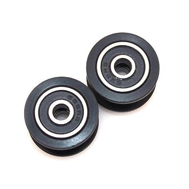 popprint precisa correa de distribución polea Gear rueda con rodamientos para impresora 3d (Pack de 5 unidades): Amazon.es: Industria, empresas y ciencia